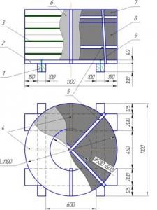 схема упаковки стальной ленты (вертикальная ось) 1